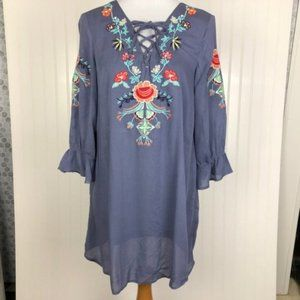 UMGEE Dress Embroidered and Lined